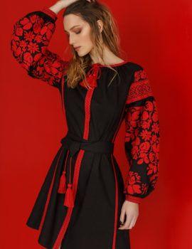 Вишиті сукні від студії сучасної вишивки «Гойра» 1bf9818614ade